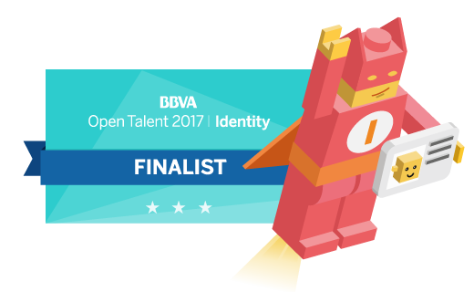 Videoidentification of eID, selected in the BBVA 2017 Open Talent
