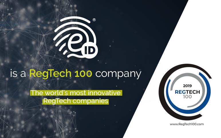 RegTech 100: EID en el TOP 100 empresas más innovadoras
