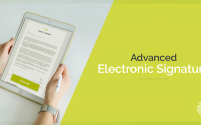 What is an advanced electronic signature and how it works