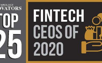 Iván Nabalón, eID's CEO, in the Top25 Fintech CEOs 2020