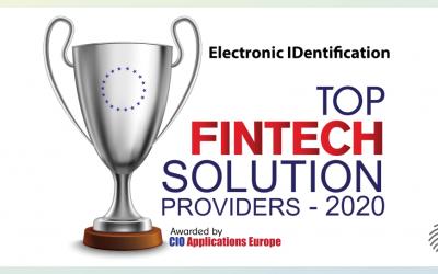 eID, Top Fintech Solution Provider 2020