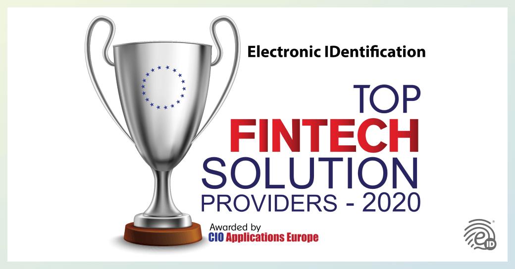 eID, TopFintech Solution Provider 2020