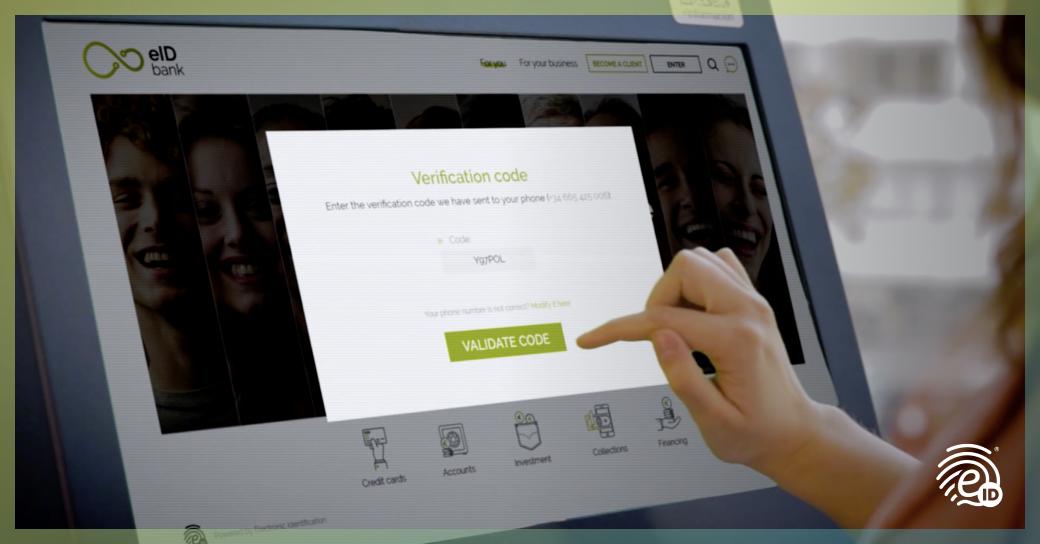 Contratar y firmar en un cajero automático o terminal digital/TPVs