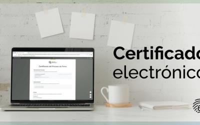 El certificado electrónico y su papel en la firma digital