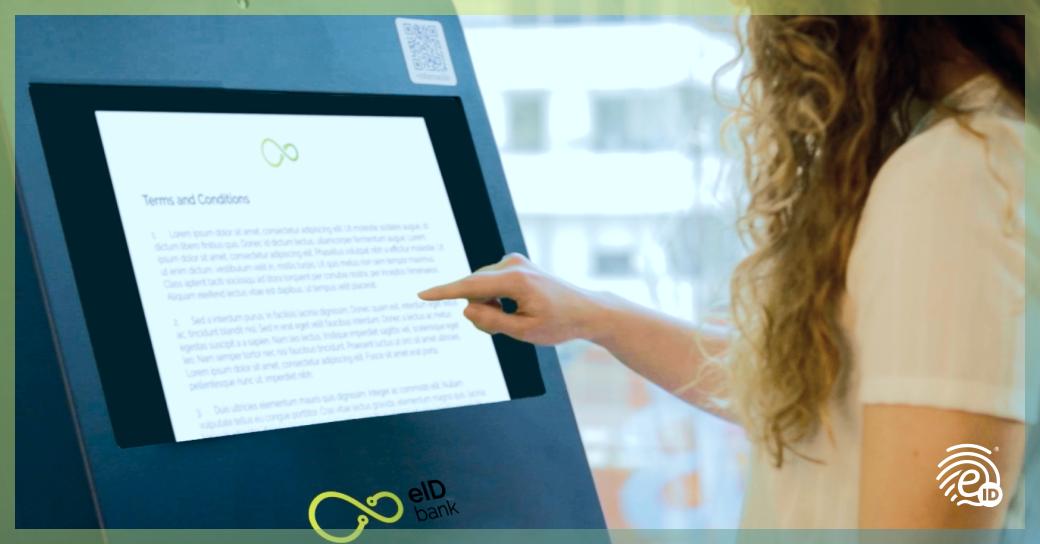 Reconnaissance faciale et contrat au guichet automatique ou au TPV