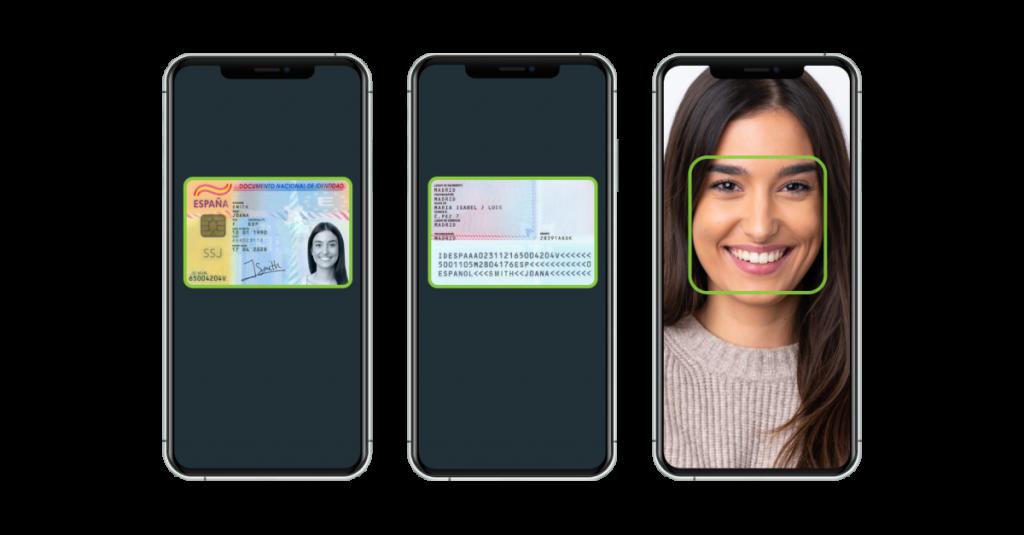 Proceso de verificación de la identidad online
